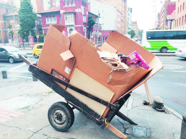 Bogota Recycling, Colombia Environment, Basura Cero