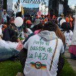 Marcha por la paz Bogota 2015
