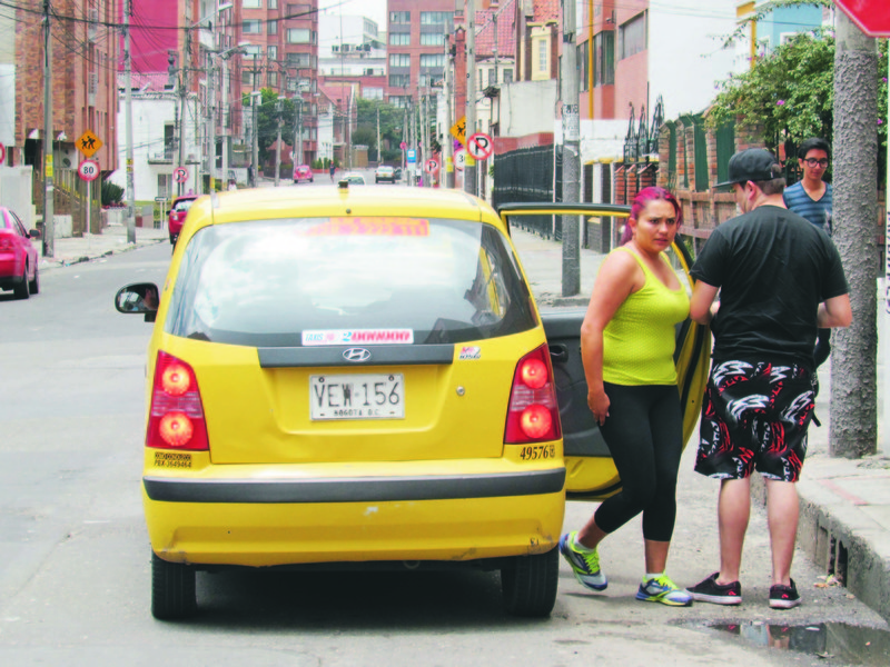 Bogota Taxis, Dia Sin Taxi