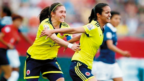 Colombia Women's World Cup,