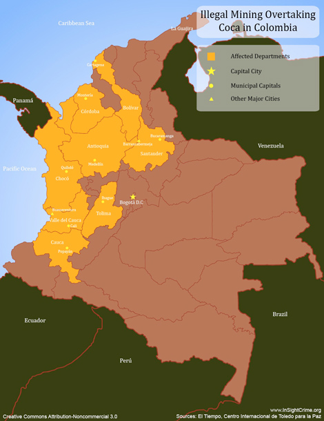 Colombia illegal mining