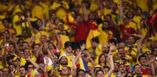 Colombian football fans, Colombian fans in Chile