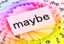 English Grammar, Expressing uncertainty in English