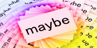 English Grammar, Expressing uncertainty in English