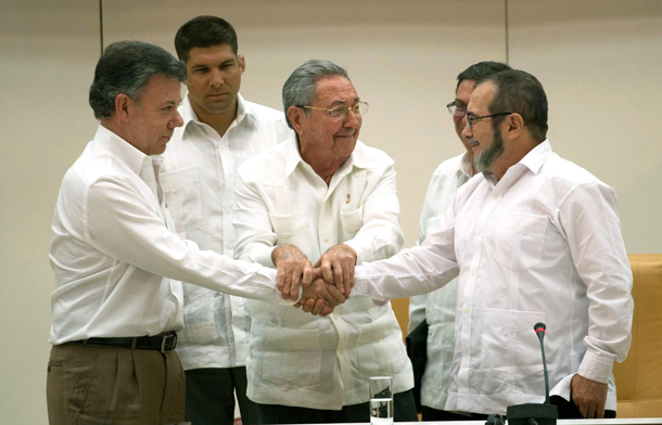 Colombian Peace Process, FARC Colombia
