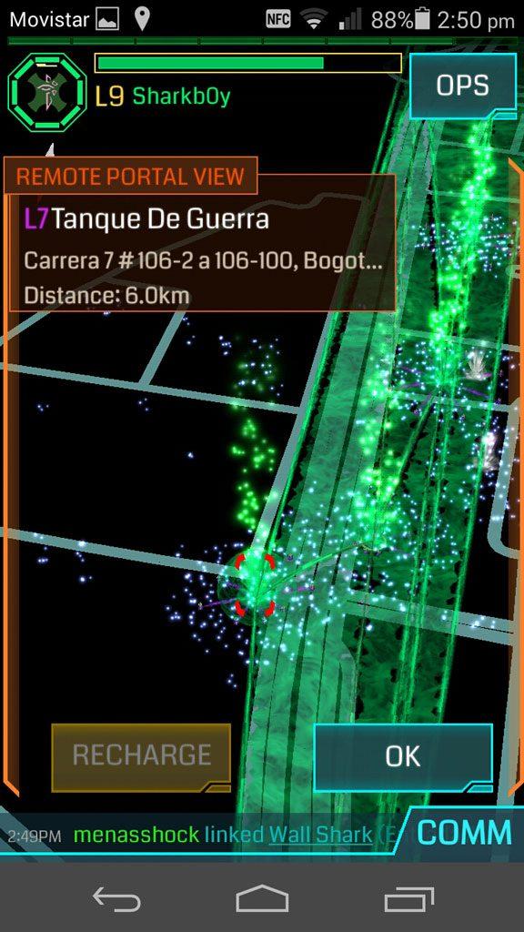 Ingress Bogotá