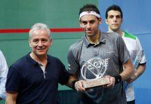 Colombian squash open in Cartagena, Mohamed El Shorbagy
