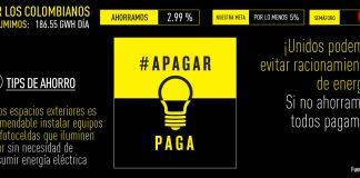 Apagar paga, Colombian energy crisis