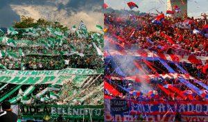 Colombian football violence, Stadium violence