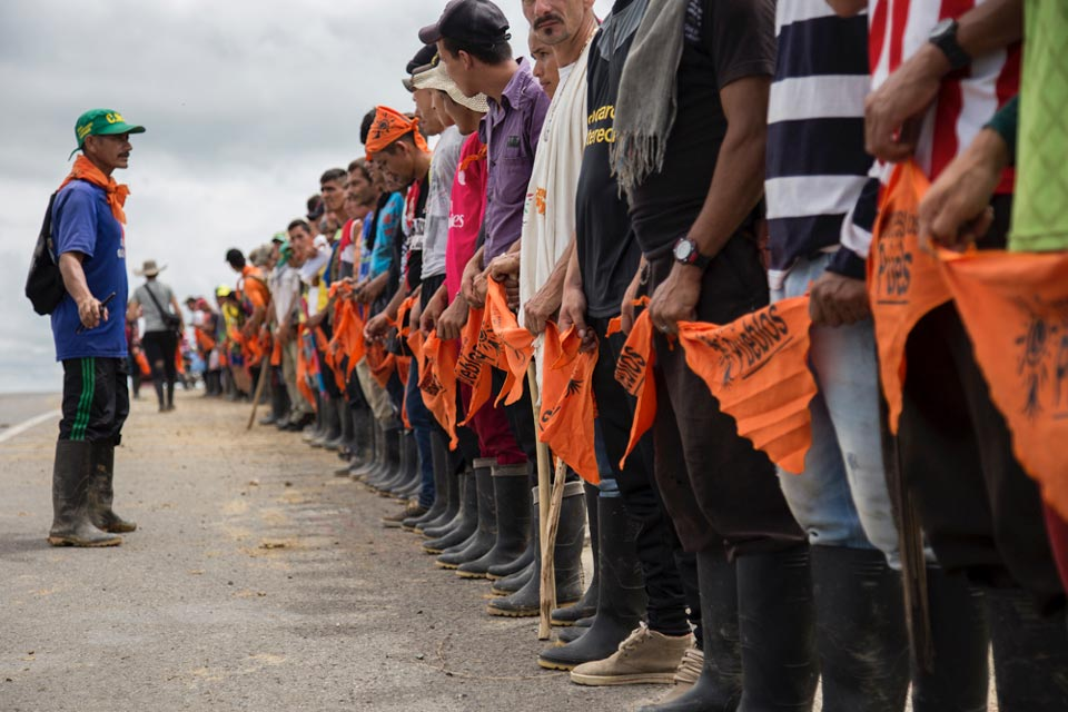 agricultural strike