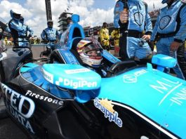 Carlos Muñoz claims Indy 500 second place