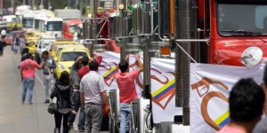 Paro Camioneros, Truck strike