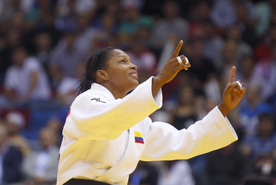 Yuri Alvear, Colombia Olympic Games