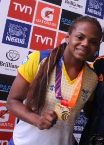 Jackeline Rentería, Colombian athletes