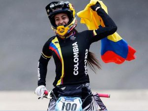 Mariana Pajón, Colombian athletes
