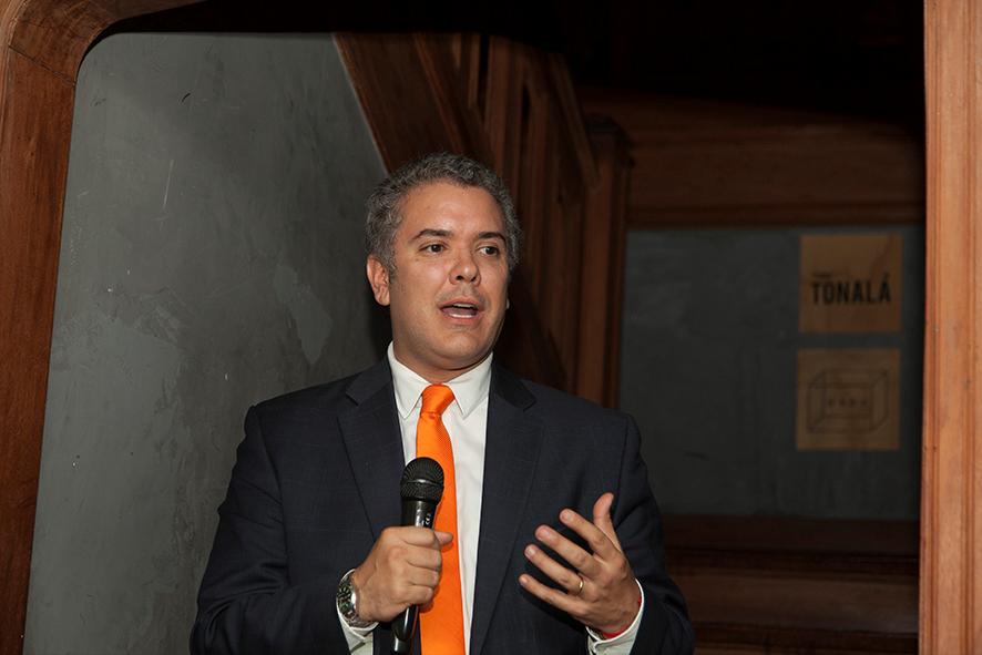 Colombia plebiscite, Iván Duque