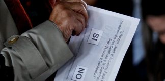 Colombia peace process, Colombia plebiscite