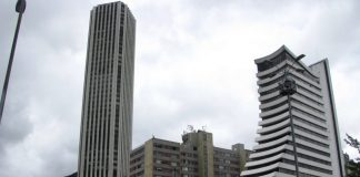 Bogotá buildings, La Rebecca, Torre Colpatria, Bogotá architecture