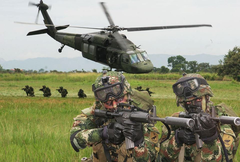 Colombian military, defence industry