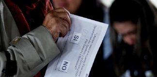 Colombian plebiscite