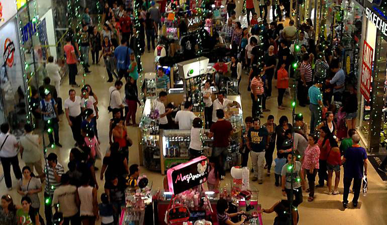 Bogotá Christmas, Bogotá shopping