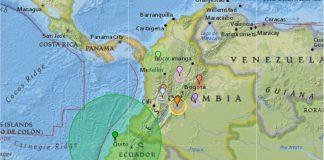 Bogotá tremor