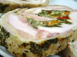 Campón Relleno, traditional Christmas food