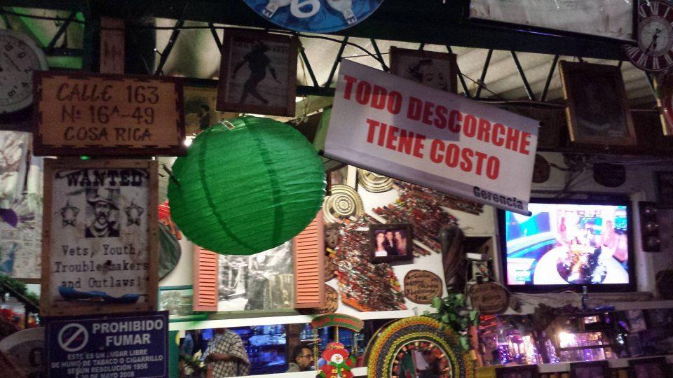Tejo Bogotá, Club Costa Rica Bogotá