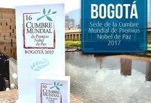 Nobel Peace Laureates, Nobel Peace summit Bogotá