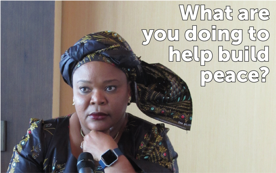 Leymah Gbowee, Nobel Peace Laureate Bogotá, 16th World Summit of Nobel Peace Laureates