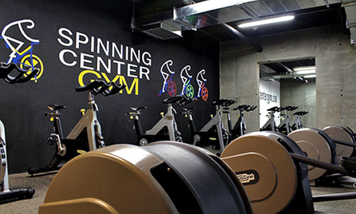 Gym routine, Spinning Center Bogotá