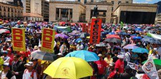 Teacher's strike Colombia