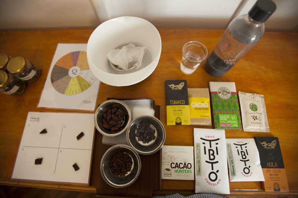 Colombian Chocolate Club, Colombian cacao, Colombian chocolate