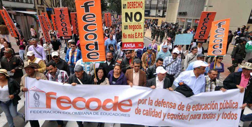 teachers' strike, paro profesores, fecode paro