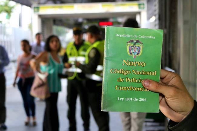 Police code Colombia