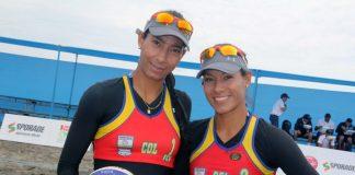 volleyball colombia, Andrea y Claudia Galindo