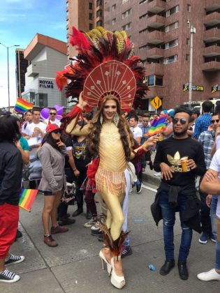 Bogotá gay pride