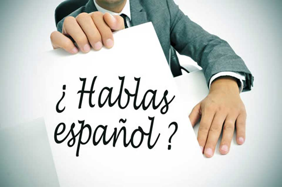 basic Spanish sentence structures