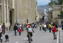 The World Bank helps pump up Bogota bike use