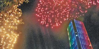New Year in Bogota