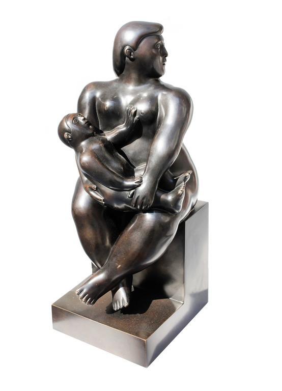 """Maternidad"" by Fernando Botero"