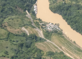 Hidroituango Dam River Cauca Flood