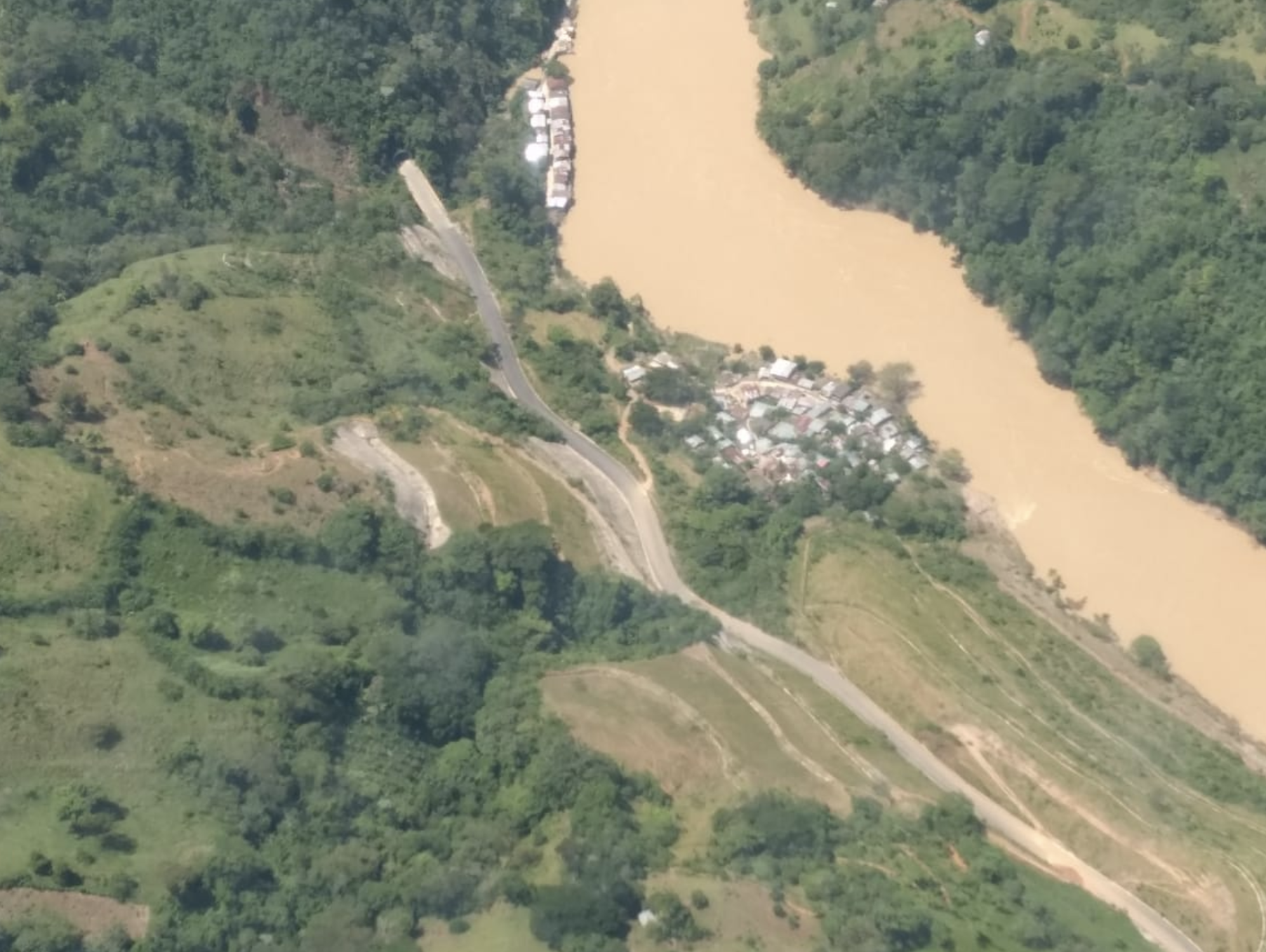 Hidroituango Dam River Cauca Flood