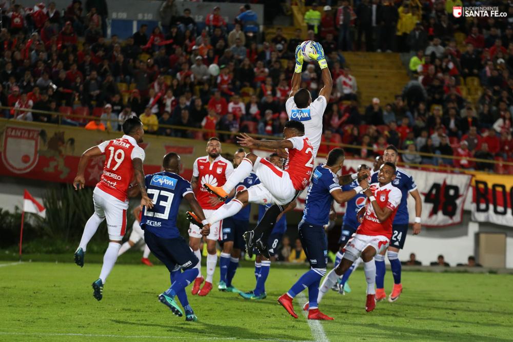 Millonarios, Independiente Santa Fe