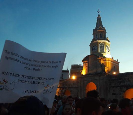 Velaton Por la Vida Human Rights Leaders Killed Colombia