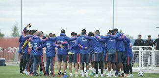 Colombia training team
