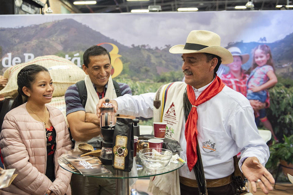 Cafés de Colombia Expo, coffee