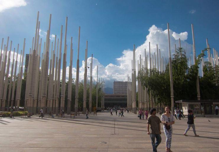 Parque de las Luces medellin transformation