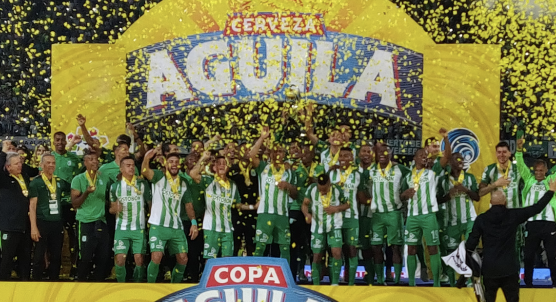 Atletico Nacional Tops Once Caldas 2 1 To Take Out Copa Colombia 2018