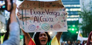 Indigenous communities in Cauca are now in their 18th day of protest against the government.